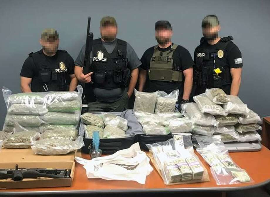 The 7-month-long Operation Clean Sweep involving multiple law enforcement agencies led to the seizure of a stash of drugs and cash and 10 arrests in the Cedar Park area. Photo: Courtesy Photo
