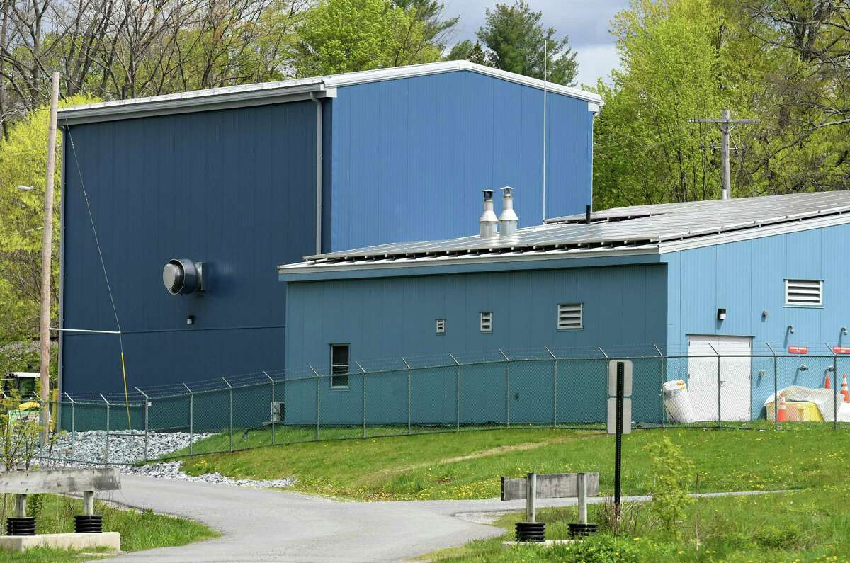 The Hoosick Falls water treatment plant on Wednesday, May, 10, 2017, in Hoosick Falls, N.Y. (Will Waldron/Times Union)