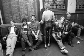Oct. 6, 1979: A scene from San Francisco's great punk clubs in the late 1970s. Young music fans hang out at the Temple Beautiful on Geary Boulevard.