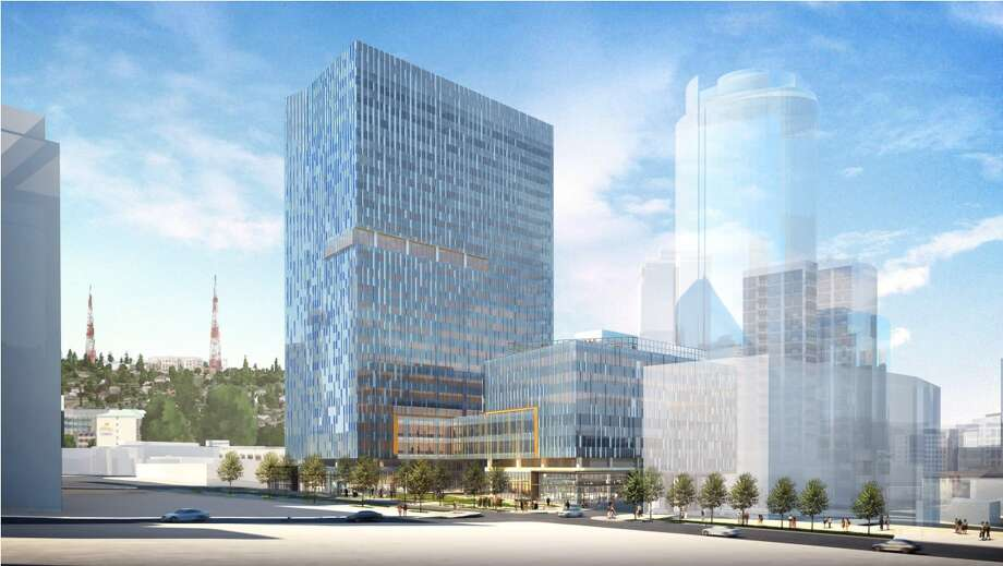Amazon has said it will donated 47,000 square feet of space in a new building as a permanent home for a shelter for women and children. Photo: Seattle Design Review Board