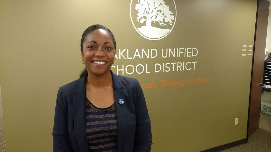 """We tried to make cuts away from the school and students as much as possible,"" said superintendent Kyla Johnson-Trammell. Photo: Oakland Unified"