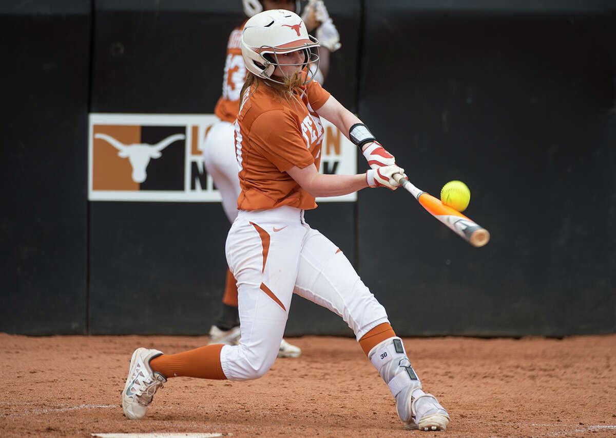 University of Texas softball player Kelli Hanzel