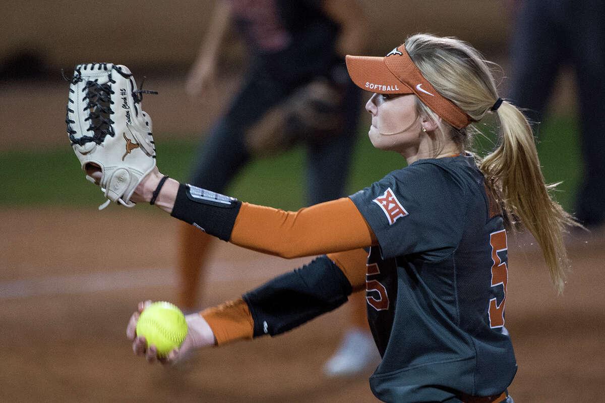 University of Texas softball player Kristen Clark