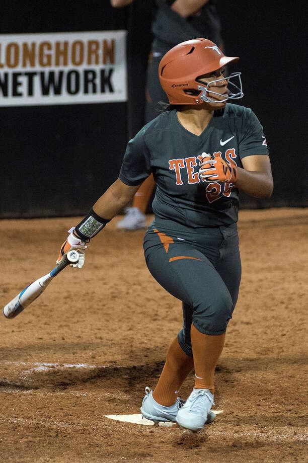 University of Texas softball player Kaitlyn Washington Photo: Texas Athletics Photo