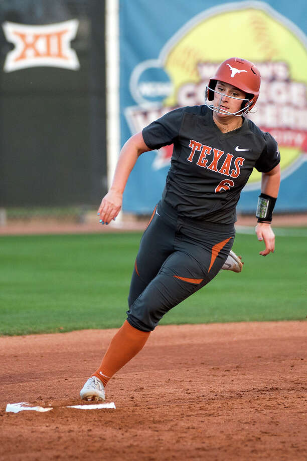 University of Texas softball player Mickenzi Krpec Photo: Texas Athletics Photo