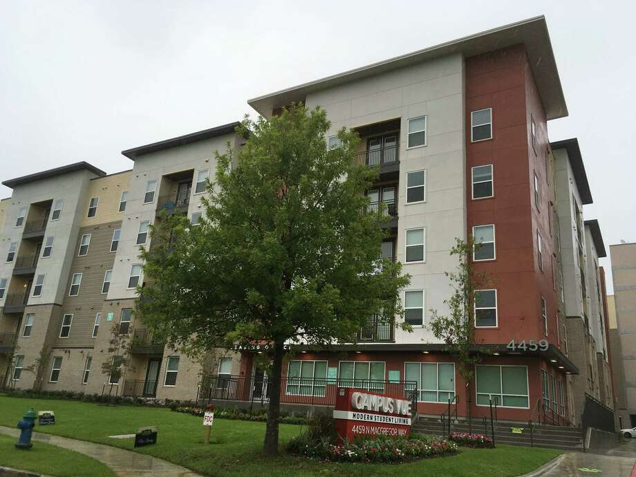 The Campus Vue student apartments at  4459 N. MacGregor Way have 145 units.  Photo: Katherine Feser