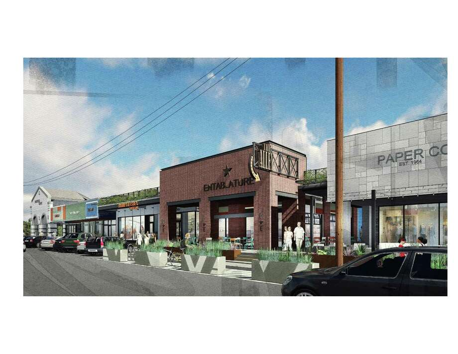 Rice Village is beginning the makeover on the south side of Amherst Street stretching from Kirby Drive to Kelvin Drive. Photo: Trademark Property Co.