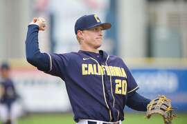 Cal freshman first baseman Andrew Vaughn leads the Pac-12 in homers with 12.