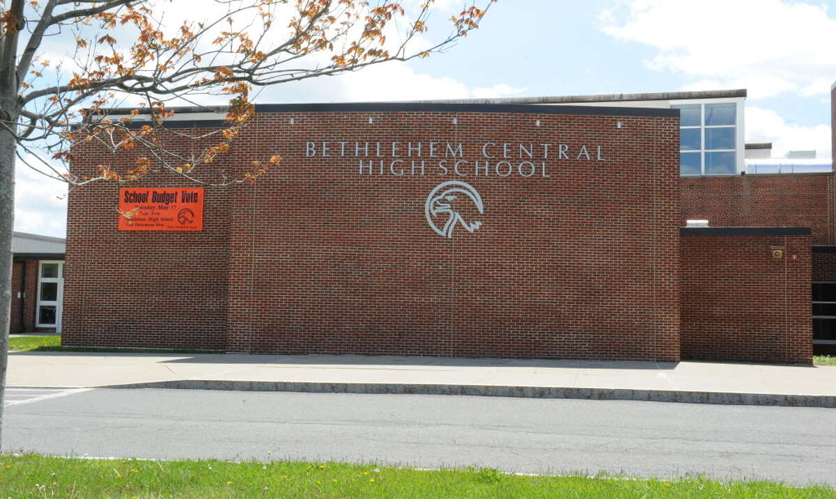 Exterior of Bethlehem High School on Monday, May 9, 2016 in Delmar, N.Y. (Lori Van Buren / Times Union)