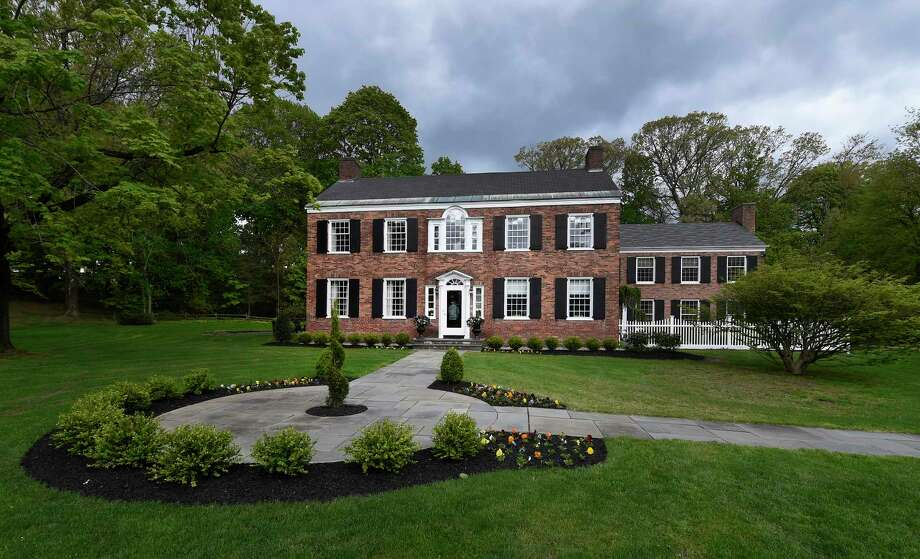 Exterior view of the vanguard show house at 14 pheasant lane tuesday may 9 2017