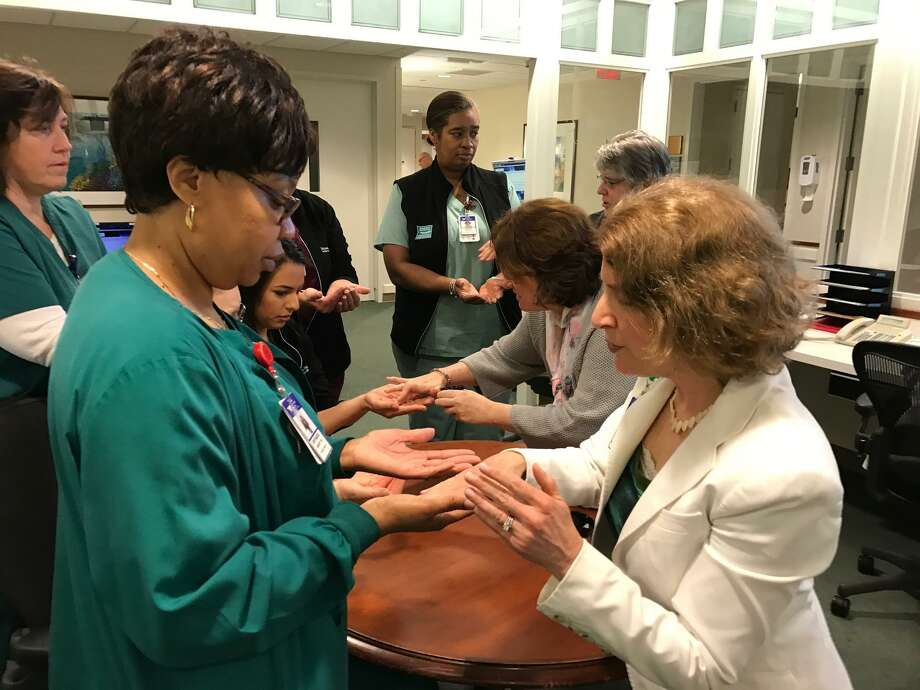 Blessing of the hands at Greenwich Hospital - Connecticut Post