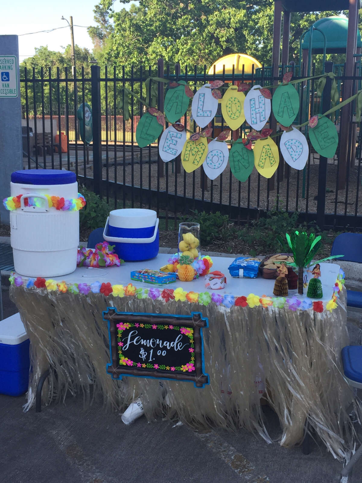 Students at Yellowstone Academy earned $7,500 during the school's first time participating in Lemonade Day. Photo provided by Cadence Bank.