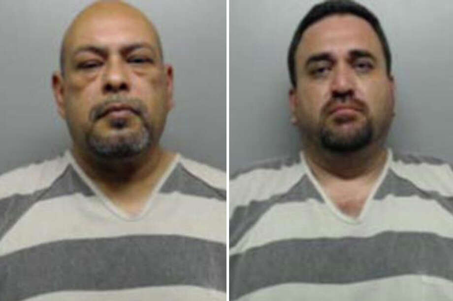 In May, Lt. Fernando Garcia and Sgt. Fernando Martel were arrested on allegations they engaged in sexual contact with women in custody. Photo: Webb County Sheriff's Office