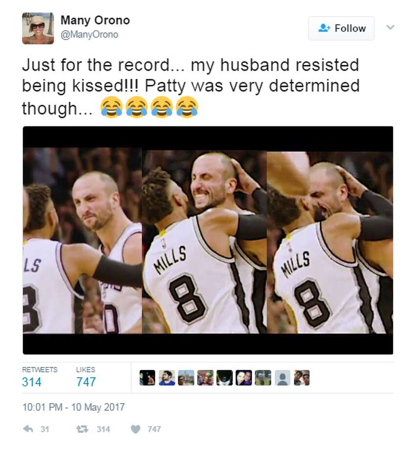 b0deed3e4bb Patty was very determined   Ginobili s wife jokes about Mills ...