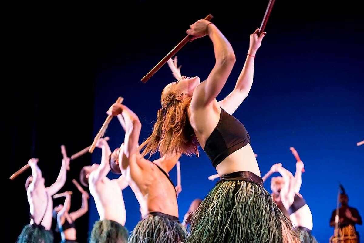 San Francisco capoeira artists ABADÁ perform martial arts, music and dance at the San Francisco International Arts Festival.