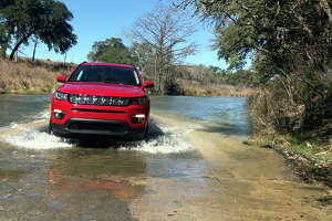 The 2017 Compass offers Jeep-like ground clearance, ranging from 7.8 inches for 4x2s to 8.5 inches for the Trailhawk.
