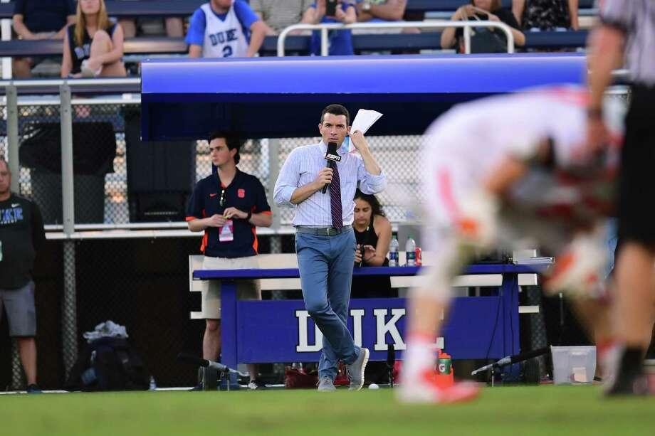 Durham, NC - April 28, 2017 - Koskinen Stadium: Paul Carcaterra during the 2017 ACC Men's Lacrosse Semi-Final game (Photo by Phil Ellsworth / ESPN Images) Photo: Phil Ellsworth / ESPN Images / 2017, ESPN Inc.
