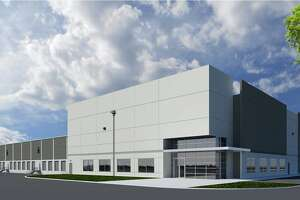 A rendering of the build-to-suit facility planned by AVERA on Sutton Road off FM 1405.