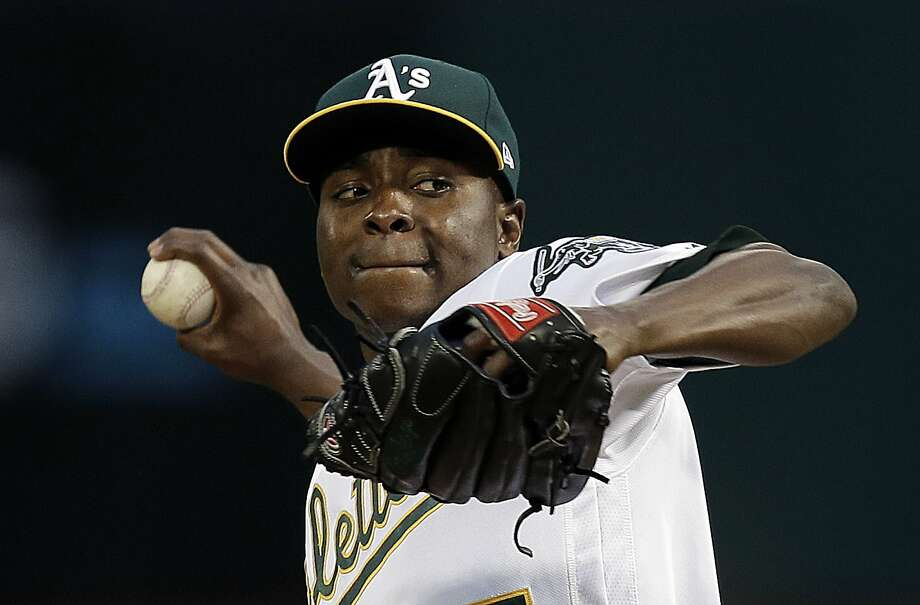 Athletics' Jharel Cotton optioned to Triple-A