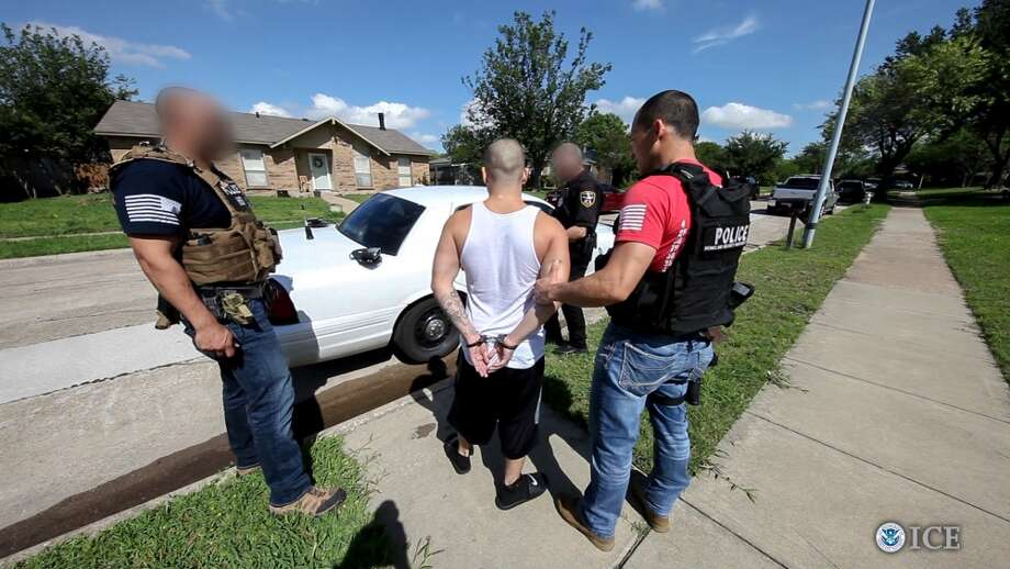 A six-week nationwide gang operation led by U.S. Immigration and Customs Enforcement's (ICE) Homeland Security Investigations (HSI) concluded on May 6, 2017, with arrests across the United States – the largest gang surge conducted by HSI to date. The operation targeted gang members and associates involved in transnational criminal activity, including drug trafficking, weapons smuggling, human smuggling and sex trafficking, murder and racketeering. Photo: U.S. Immigration And Customs Enforcement