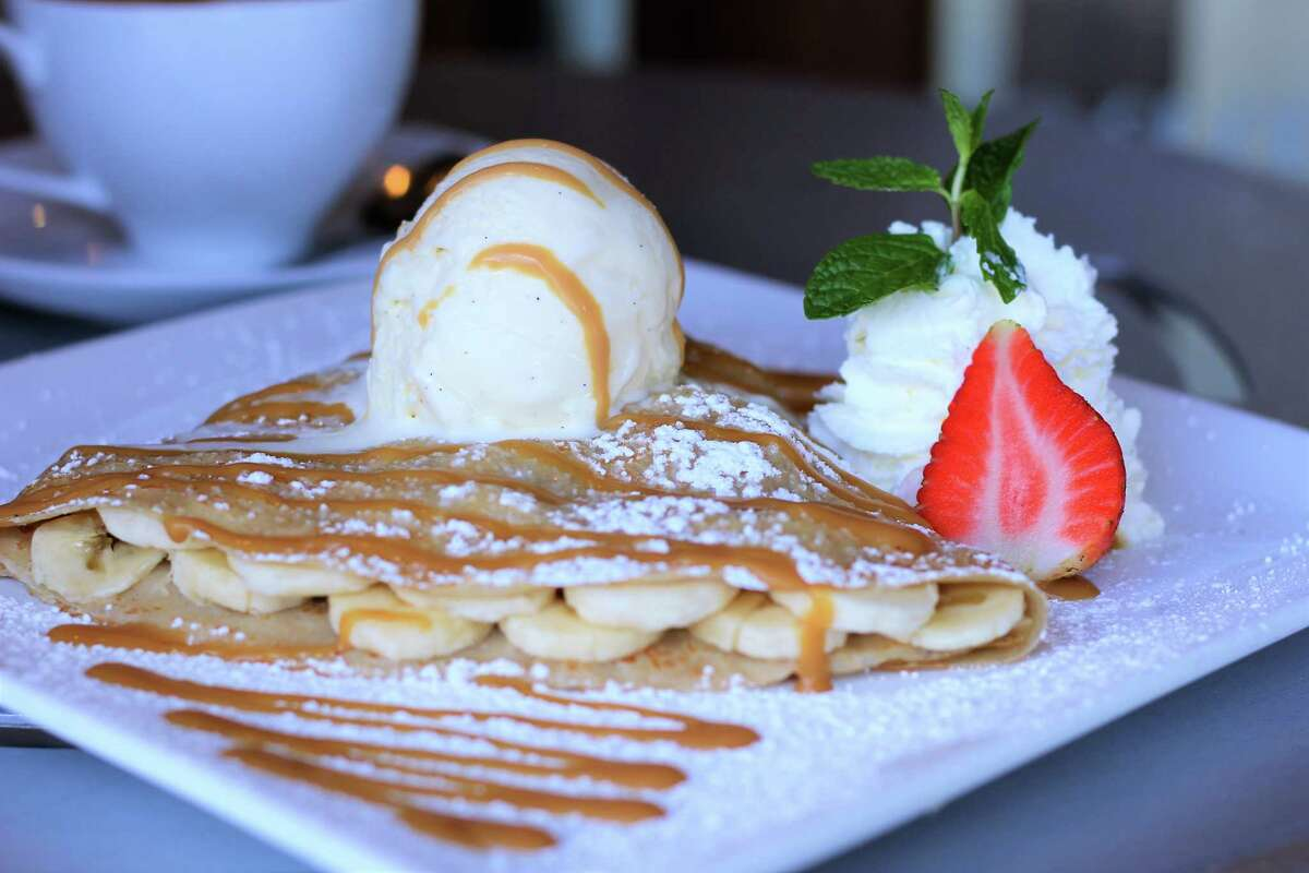 The Banana Foster Crepe at Coco Crepes, Waffles & Coffee will be available at the upcoming creperie in The Woodlands. Coco Crepes aims to open on June 12 at6777 Woodlands Parkway, Suite 214.