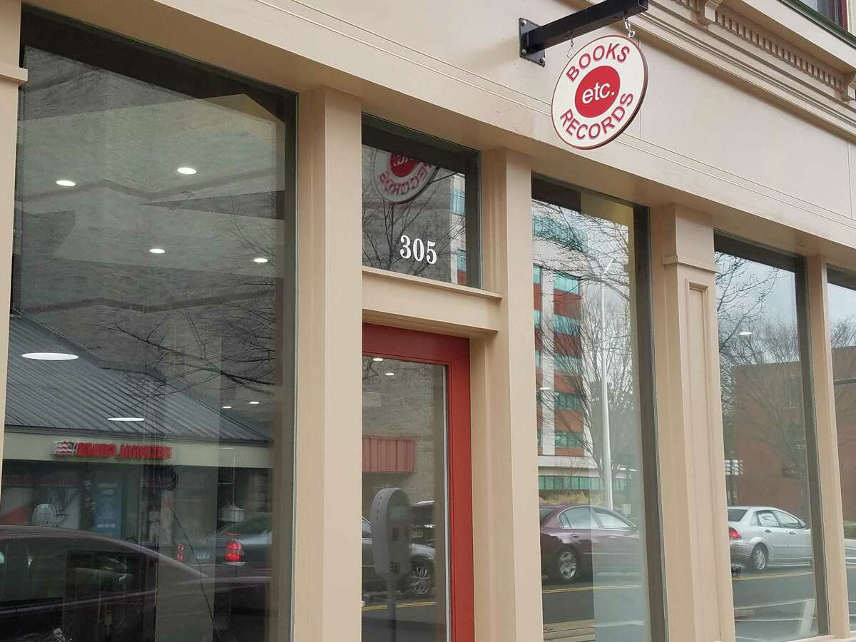A new bookstore and record store is opening Saturday on Fairfield Avenue in downtown Bridgeport.