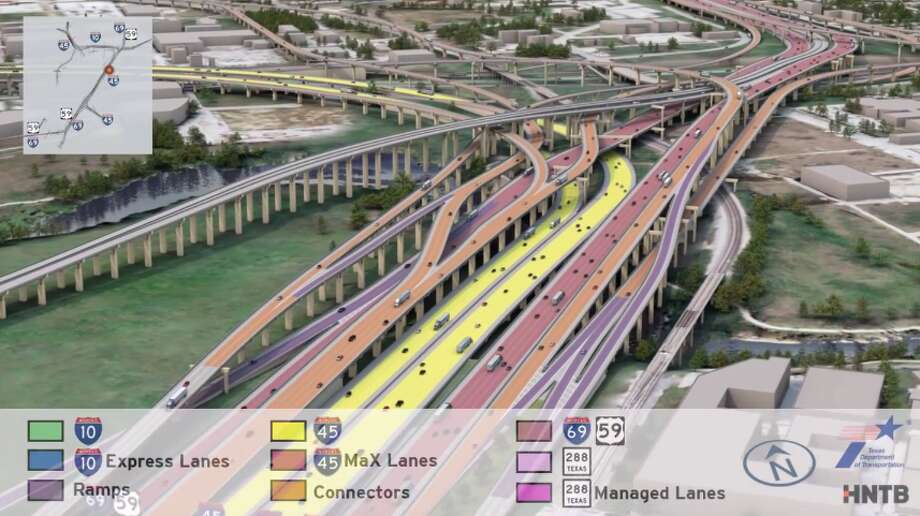 what houston will look like after txdot s multi billion dollar