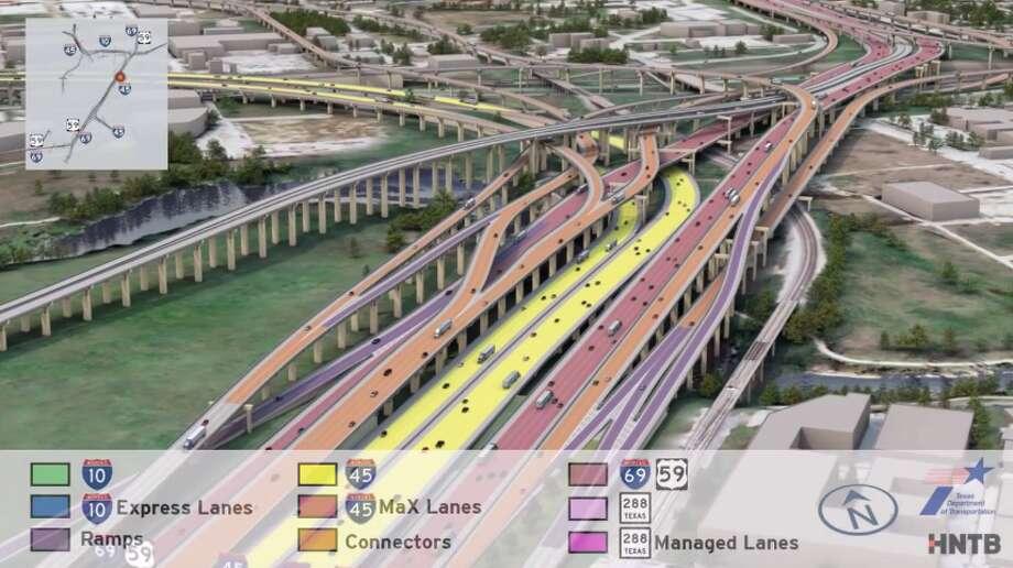 TxDOT's big plansClick through to see how TxDOT plans to transform major roadways in Houston. Photo: TxDOT