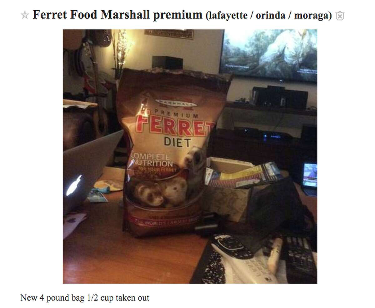 Free stuff you'd only find on Bay Area Craigslist