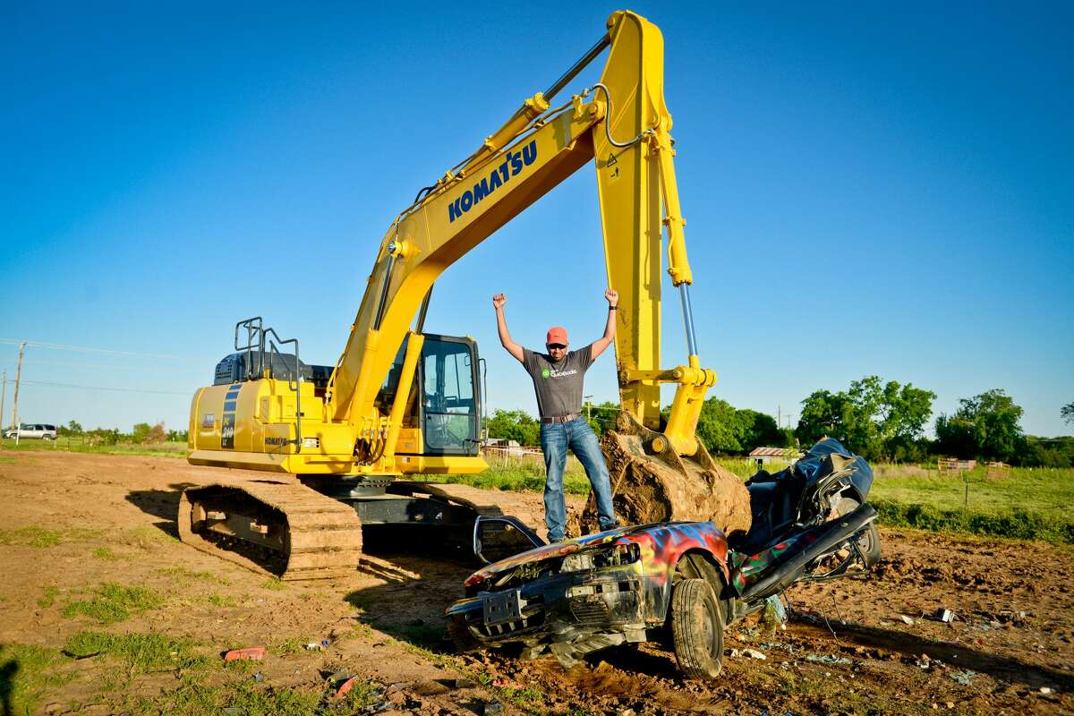 Extreme Sandbox, located north of Dallas, bills itself as an extreme heavy equipment adventure company where patrons can drive bulldozers, wheel loaders and excavators for fun.