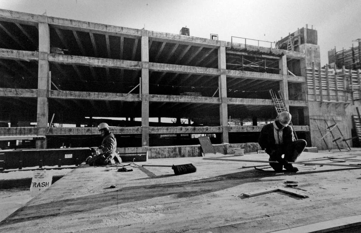 The Stamford train station parking garage has had structural problems since its initial construction in 1983, when cracks were found in support beams just eight months after work started. X-rays of the concrete revealed that about half as many steel support rods had been used than were required.