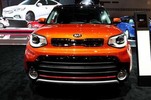 CHICAGO - FEBRUARY 10: 2017 Kia Soul is on display at the 109th Annual Chicago Auto Show at McCormick Place in Chicago, Illinois on February 10, 2017. (Photo By Raymond Boyd/Getty Images)