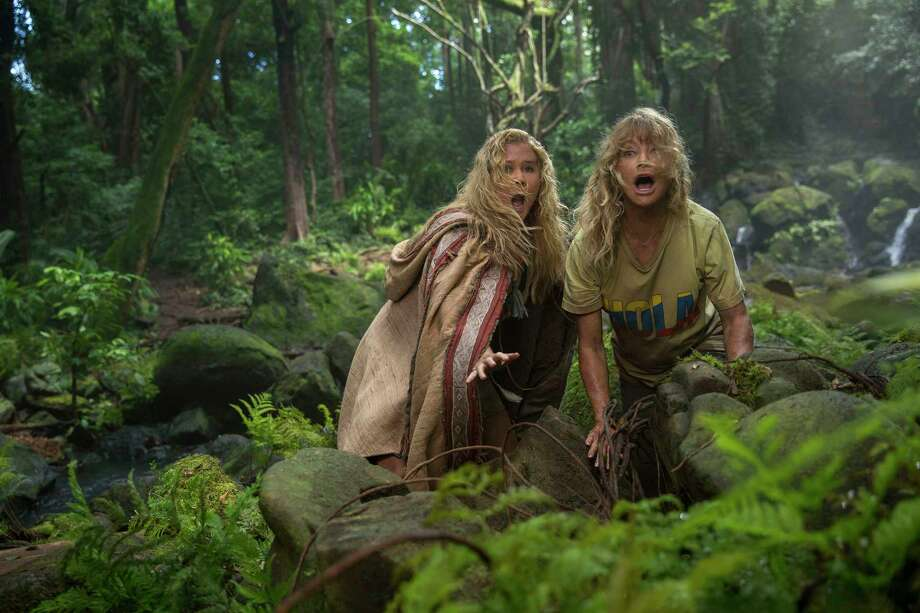 """Amy Schumer, left, and Goldie Hawn in the mother-daughter kidnapping comedy """"Snatched."""" Photo: Justina Mintz/20th Century Fox, HO / TNS"""