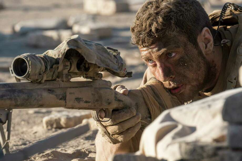 """This image released by Amazon Studios and Roadside Attractions shows Aaron Taylor-Johnson in a scene from, """"The Wall."""" (David James/Amazon Studios and Roadside Attractions via AP) Photo: David James, HONS / Amazon Studios"""