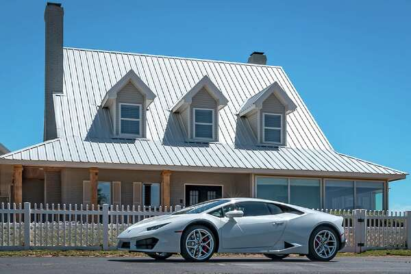 This 4-acre property is listed at $1,299,000. A 2017 Lamborghini Huracan will pass with sale.