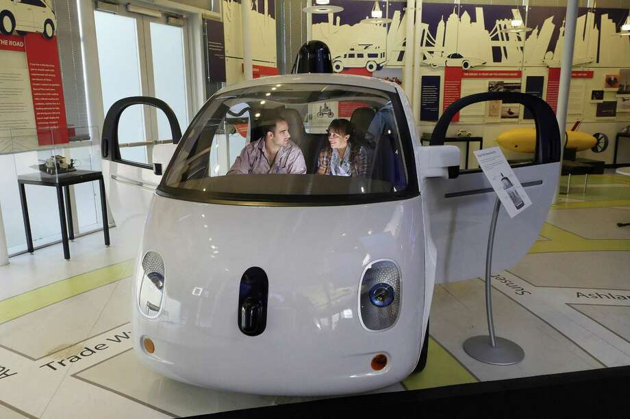 The development of self-driving cars means many people who drive for a living will be out of work — a reason to develop a culture of lifelong learning that adapts to emerging technology. Photo: Jim Gensheimer /Bay Area News Group / San Jose Mercury News
