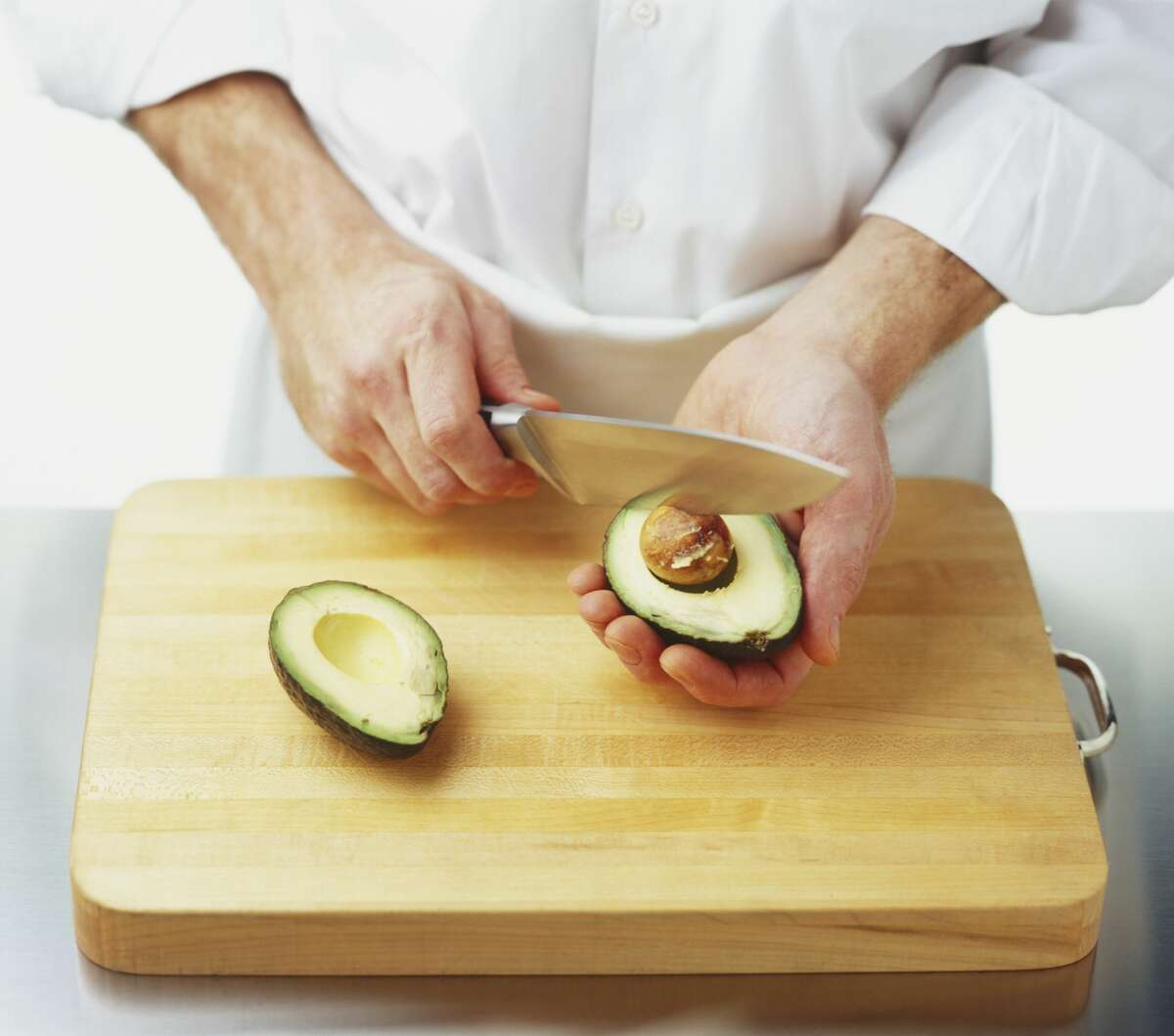 Cutting avocados is tricky business and leads to hand injuries each year.