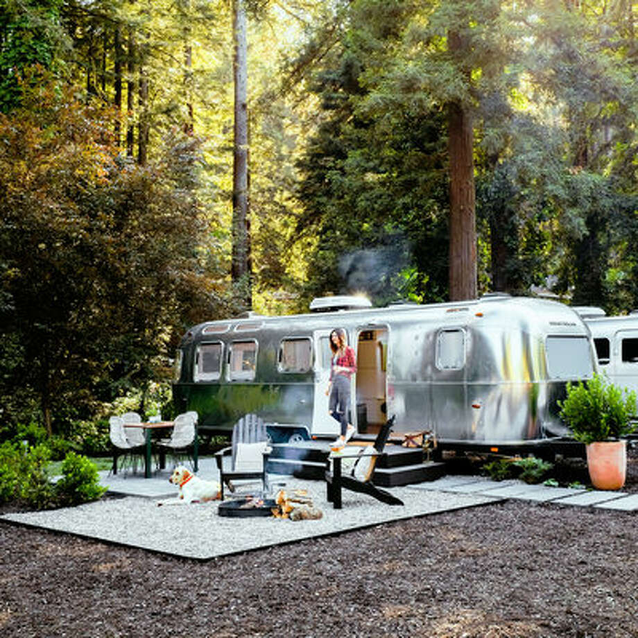 AutoCamp Russian River, Guerneville, CAWho said you can't camp and enjoy the California wine country at the same time? Autocamp (Airstream from $200/night, luxury tent from $175/night) has both sleek custom Airstreams and canvas tents fit for even the most hesitant camper. You'll sleep easy on a plush queen-sized Casper mattress and comfy sheets. The firepit and deck are perfect for relaxing with a glass of wine. Photo: Thomas J. Story