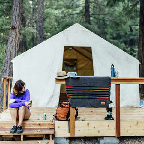 10 best spots for trailer & yurt camping - SFGate