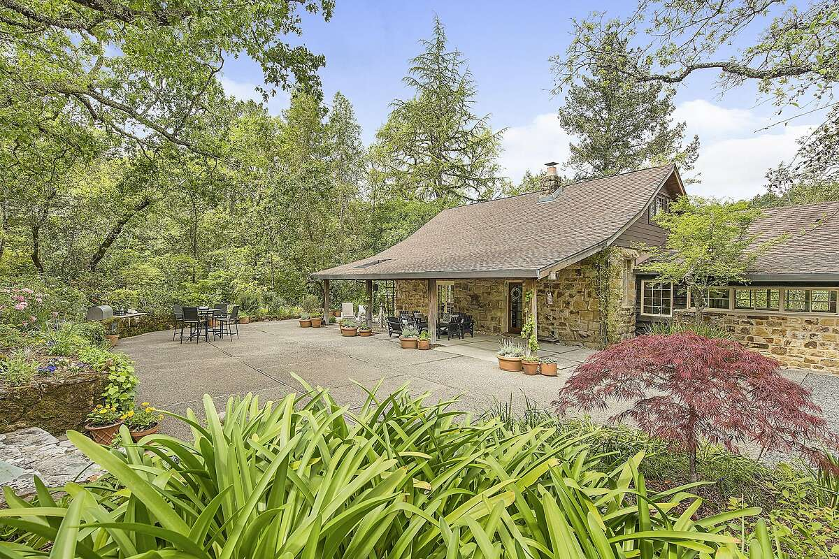 4495 Redwood Road in Napa was originally a schoolhouse and sits on more than four acres.