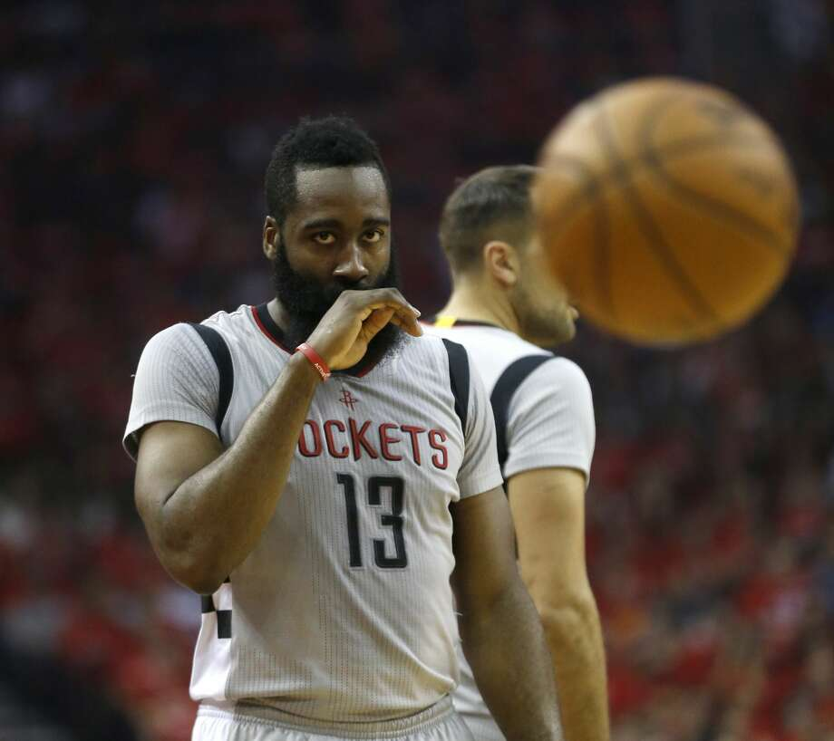 An NBA fan rewrote James Harden's work excuse letter after the team received a beat down from the San Antonio Spurs.Keep going to see more internet reaction from the game. Photo: Karen Warren/Houston Chronicle