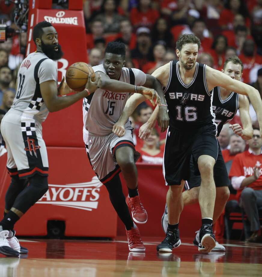 The Rockets and Spurs will clash Friday for the first time since their Western Conference semifinal series last spring. Photo: Karen Warren/Houston Chronicle