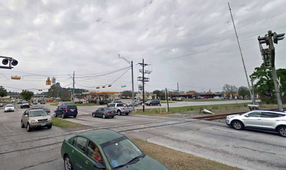 The first phase of Northpark Drive improvements include construction of an overpass above Loop 494 and Union Pacific railroad tracks in Kingwood. Photo: Courtesy Of Google