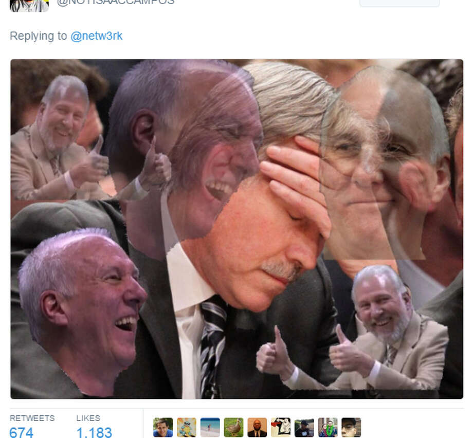 PHOTOS: Memes about the Rockets' blowout loss to the Spurs on Thursday night.Source: Twitter Photo: Twitter