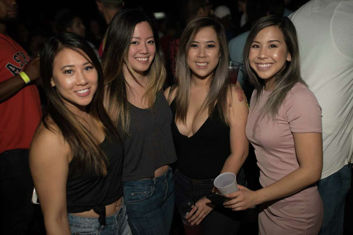 Fans in attendance to see Travis Scott perform at Revention Music Center in Downtown Houston TX on Thursday May 11, 2017