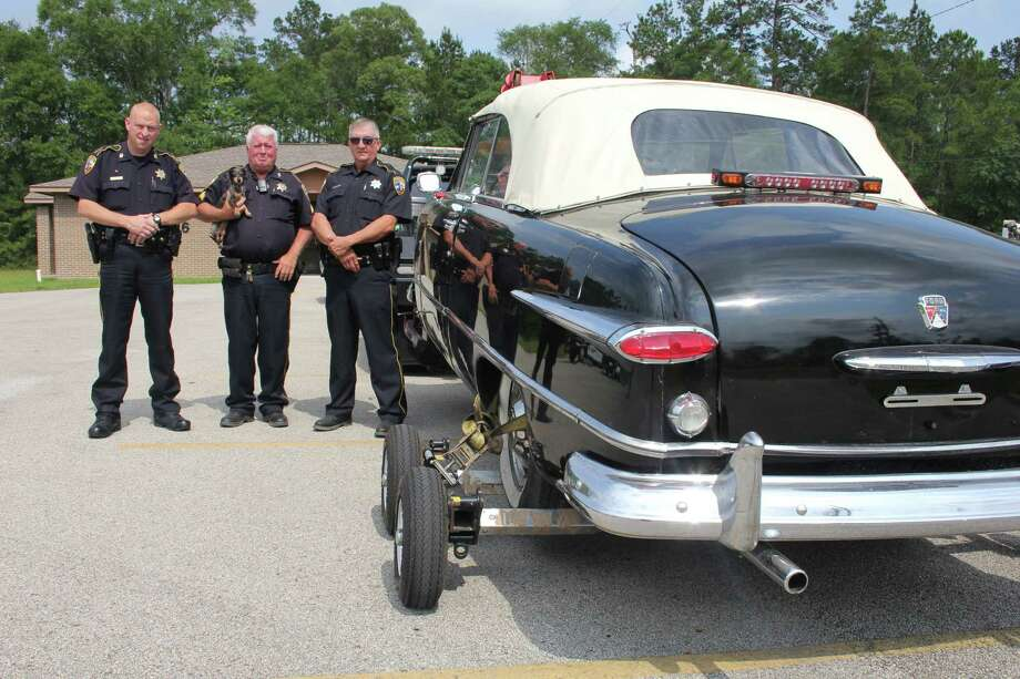 This 1951 Ford custom deluxe sedan was stolen from a cemetery in February and returned to its owner in May.Click through the slideshow to see Houston's top vehicle theft locations for 2017.  Photo: Vanesa Brashier