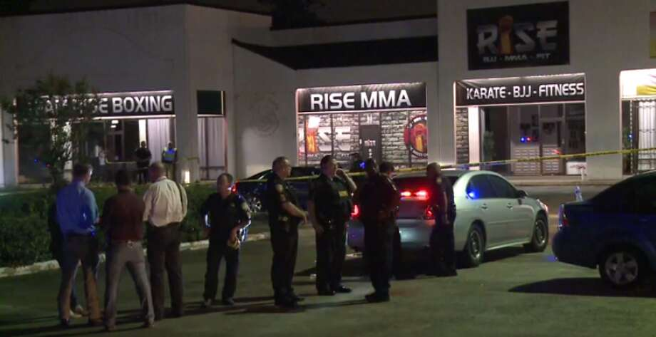 A man died Friday, May 12, after a deputy-involved shooting outside of a northeast Harris County bar. Viral video of the shooting and its aftermath was soon making the rounds. (Metro Video) Photo: Metro Video