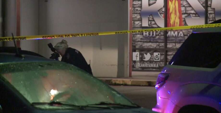 A man is dead Friday after a deputy-involved shooting outside of a northeast Harris County bar. (Metro Video) Photo: Metro Video