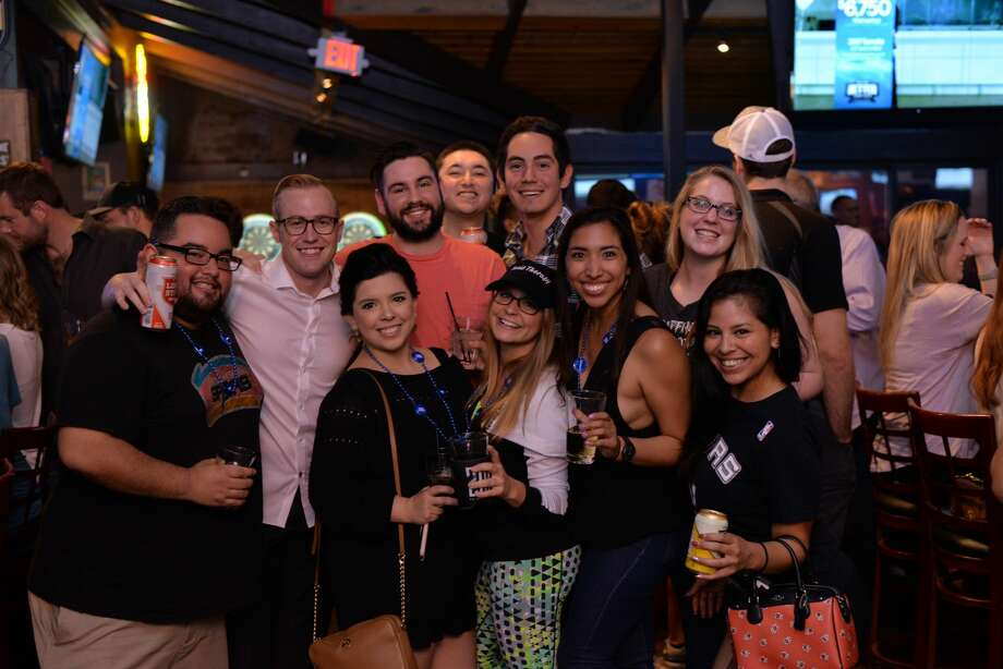 Even with the game in Houston, Spurs fans fulfilled their civic duty by cheering the night away at Little Woodrow's in Stone Oak on Thursday, May 11, 2017. The Spurs crushed the Rockets and will face the Golden State Warriors in the Western Conference finals. Photo: Kody Melton, For MySA.com