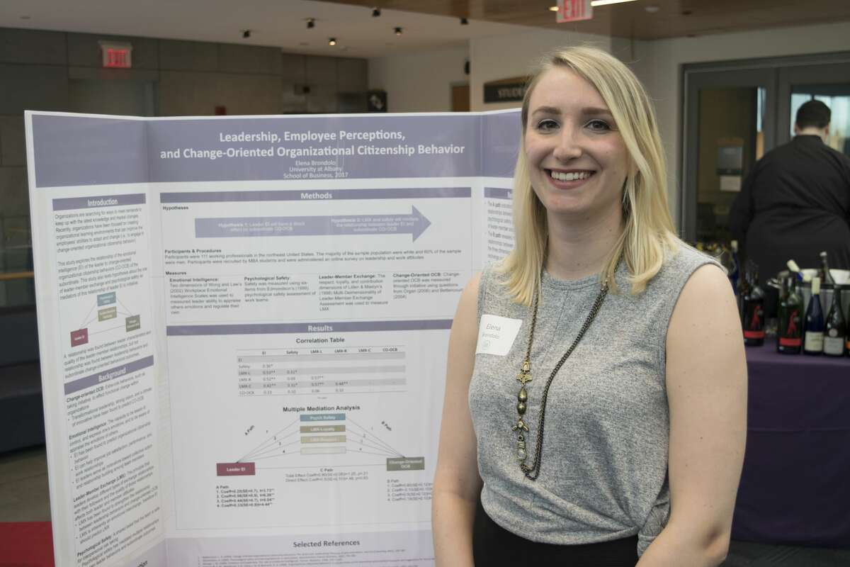 Were you seen at the 15th Annual Evening MBA Research Forum on Thursday, May 11, at the University at Albany?